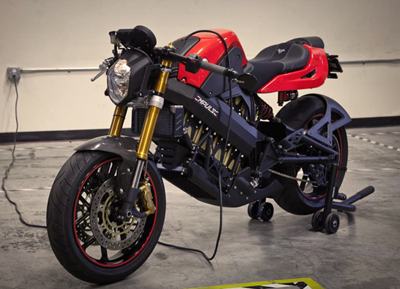 Brammo Empulse R electric motorcycle concept