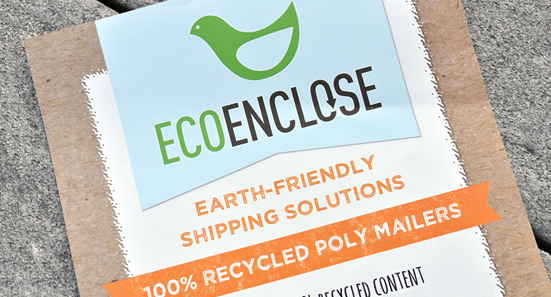 Eco Enclose earth-friendly shipping card